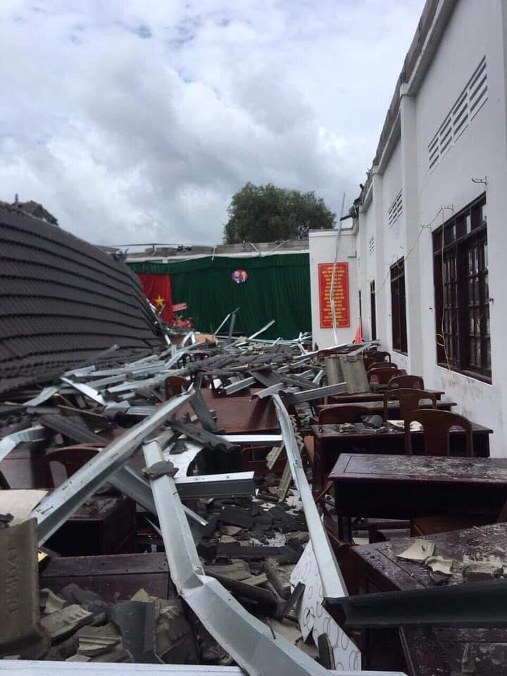 Lộ diện nhà thầu xây dựng công trình UBND vừa bị sập ở Hậu Giang