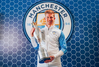 Manchester City Star Wins PFA Player of the Year Award