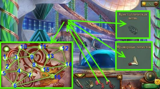 протираем флагом, ставим дракона и зажигаем все точки в игре наследие 3 дерево силы