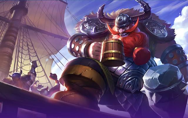Franco Frozen Warrior Heroes Tank of Skins Mobile Legends Wallpaper HD for PC