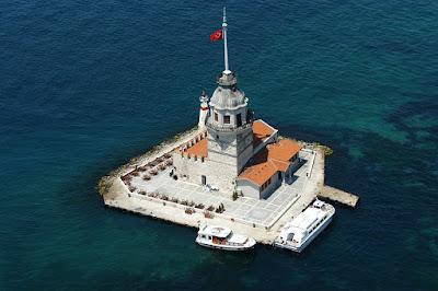 قصة برج الفتاة في تركيا