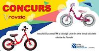 Castiga doua biciclete fara pedale pentru picii din dotare