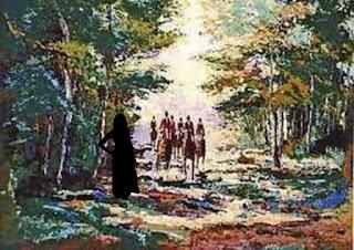امرأة فقيرة تعطي النلك درسا في الصلاة