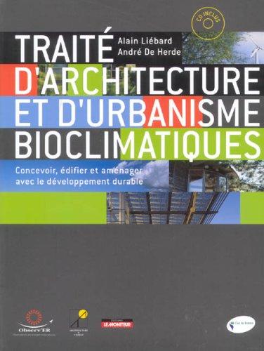 [Livre] TRAITE D'ARCHITECTURE ET D'URBANISME BIOCLIMATIQUES