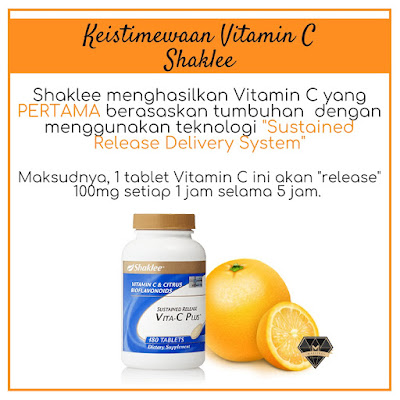 Sustained Release Vitamin C Shaklee