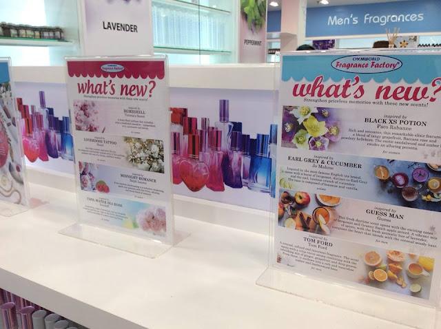 fragrance list of chemworld fragrance factory