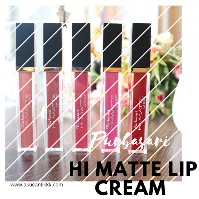 PURBASARI HI MATTE LIP CREAM : BEAUTY REVIEW