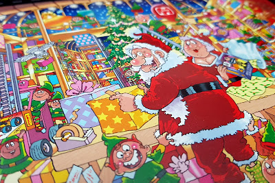 Wasgij Christmas 15 'Santa's Unexpected Delivery!' 2x1000pc Jigsaw Puzzle review