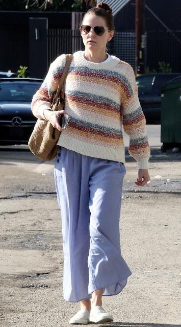 Jennifer Morrison Clicked Outside  in West Hollywood 11 Dec-2019