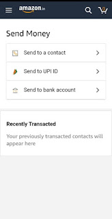 Amazon pay upi send money