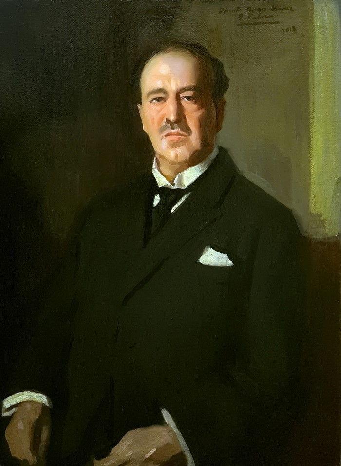 Vicente Blasco. Alejandro Cabeza