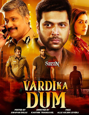 Vardi Ka Dum (Adanga Maru) 2019 Hindi Dubbed 720p HDRip 1GB