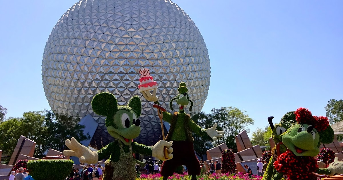 Epcot Flower and Garden Festival in Photos  The World of Deej