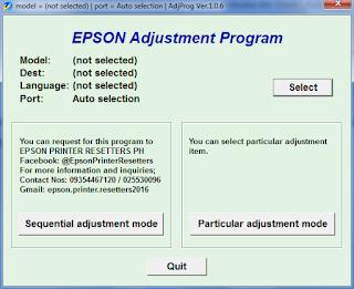 Cara Reset Printer Epson L130 L220 L310 L360 L365