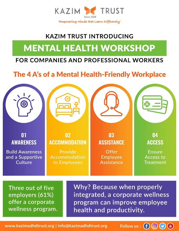 Build a Mentally Healthy Workplace with Kazim Trust