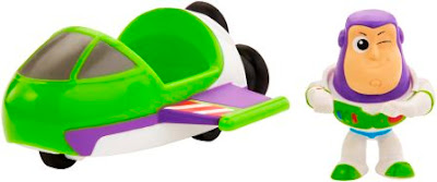 Buzz Lightyear Mini Vehicle and Figurine set