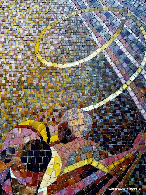 Warszawa Warsaw cmentarz Powązkowski nagrobek grób ceramika mosaic Wola Eugeniusz Bieliński Ewa Kulesza Wanda Rodowicz Cedrońska