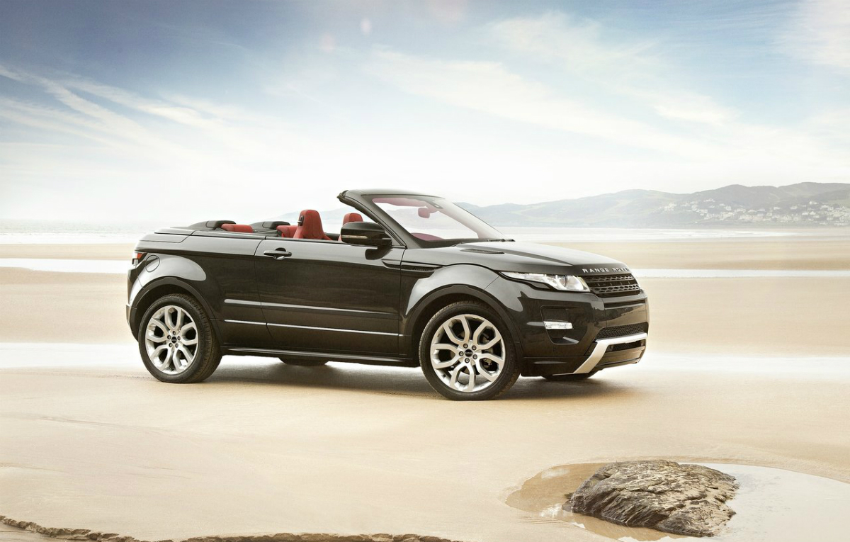 range rover evoque convertible concept car report daily. Black Bedroom Furniture Sets. Home Design Ideas