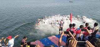 Seru, Lomba Triathlon dan Duathlon HUT TNI ke 74 Tahun 2019