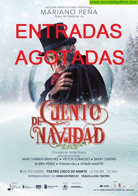 La Concejalía de Cultura trae al Teatro Circo de Marte una adaptación del 'Cuento de Navidad'