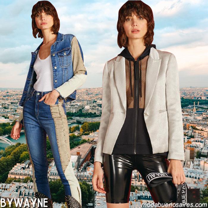 Moda casual urbana mujer primavera verano 2020.