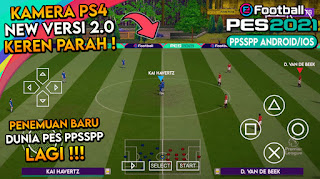 Camera PS4 v2.0  Pes 2021 PPSSPP Fix Cursor Tanpa Bug Stadion & Fix Menu Edit