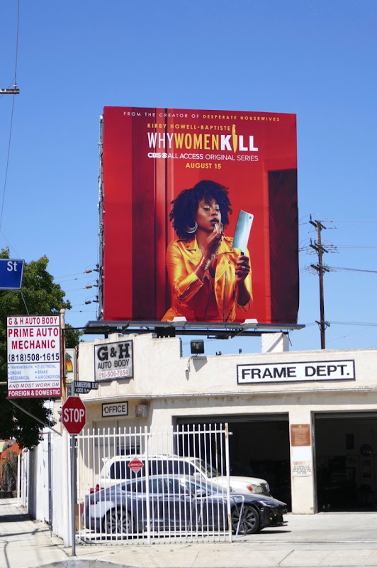Why Women Kill series premiere billboard