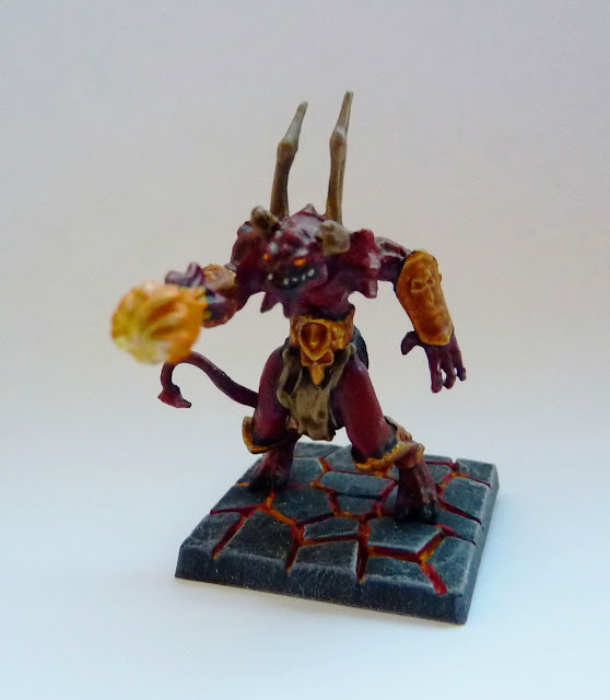 Lower Abyssal Flamebearer - Infernal Crypts expansion for Mantic's Dungeon Saga