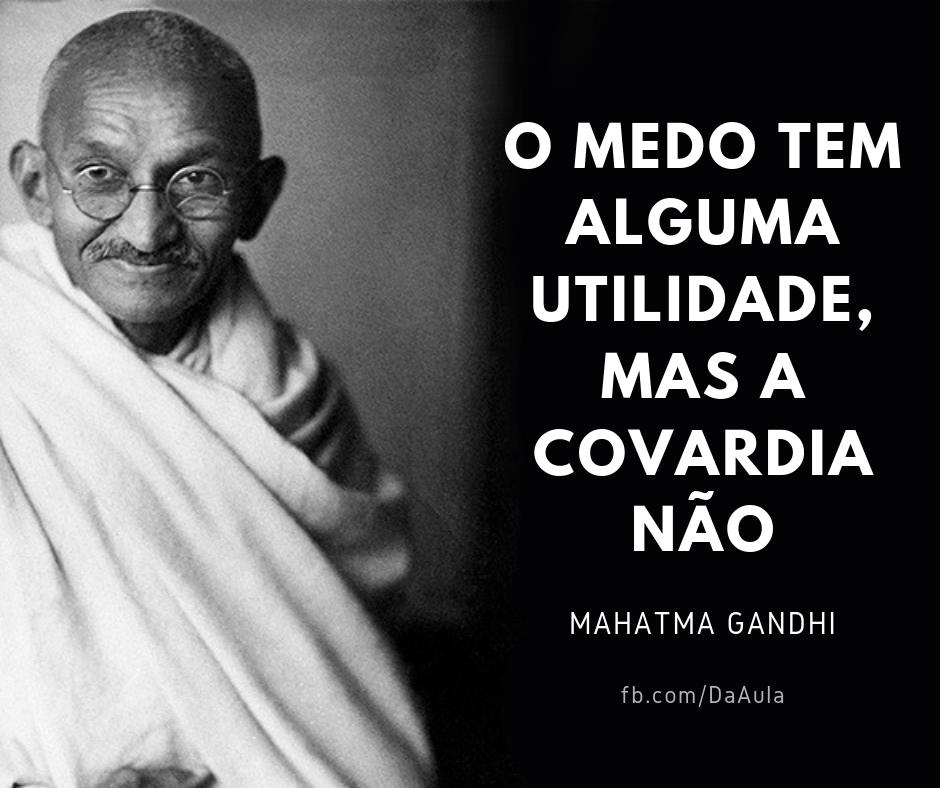 Você sabe quem foi Mahatma Gandhi?