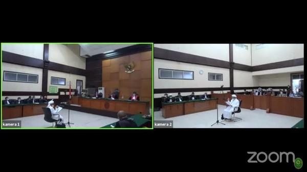 Sidang Kasus Swab Palsu Rizieq Dilanjut 7 April