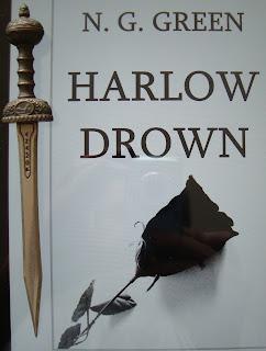 Portada del libro Harlow Drown, de N. G. Green