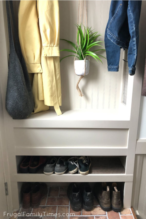 adding a mudroom