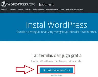 Cara Download Wordpress Offline Localhost