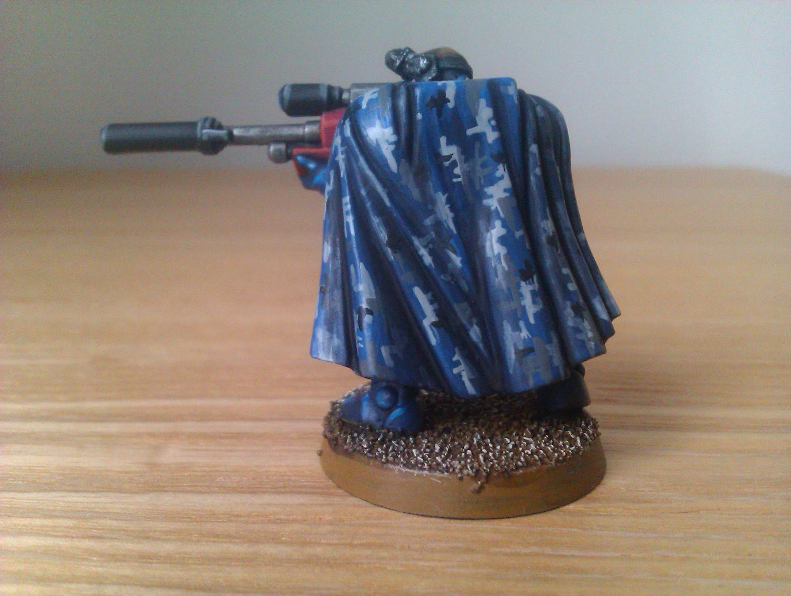 Astral Knights: Tutorial: How to paint camouflage cloaks