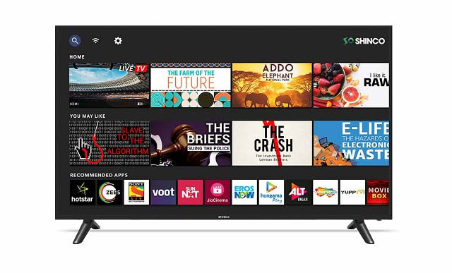 43-inch Smart TV under Rs.25000/-, OnePlus, Thomson, Realme and Shinco