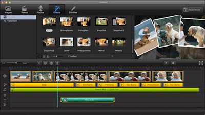 Windows Movie Maker editing software