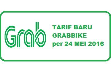 tarif baru grabbike 2016, tarif terbaru grabbike 2016, tarif grabbike juni 2016, tarif grabbike juli 2016, tarif grabbike 2016
