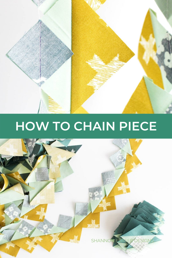 How to chain piece quilt blocks | Quilt Tutorial | Shannon Fraser Designs #chainpiecing #quitltutorial #quilting #howtoquilt