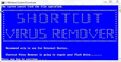 تحميل افضل برنامج لحذف فيرس الشورت كت نهائيا Shortcut Virus Remover