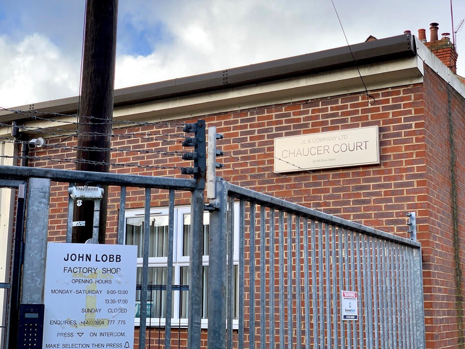 JOHN LOBB Entrance