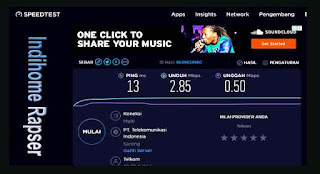 Cek Speed Test Internet Indihome