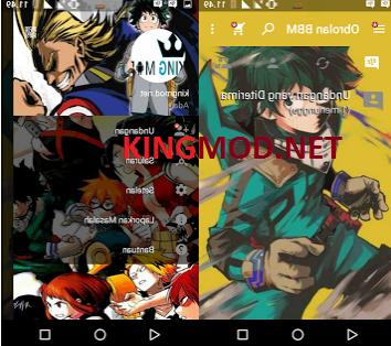 BBM MOD Boku no Hero Academia v2.13.1.14 Apk Terbaru
