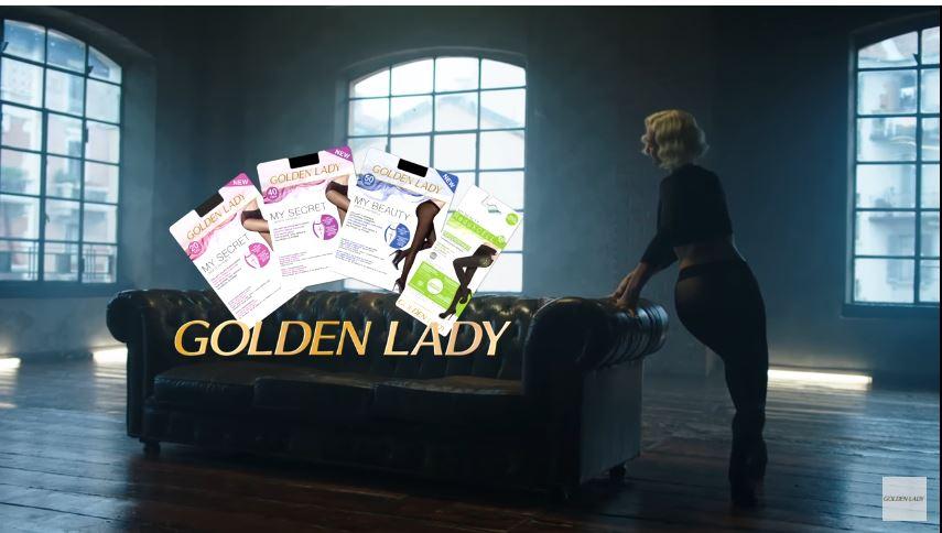 Canzone Goldenlady pubblicità calze my secret con ballerina e Divano nero - Musica spot Novembre 2016