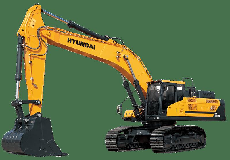Hyundai Excavators HX520L