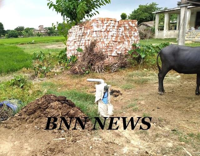 पिहवाड़ा के वार्ड-07 में जल-नल योजना में अनियमितता की शिकायत