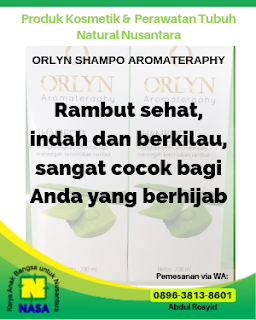 ORLYN Shampoo Aromatherapy Mengatasi Ketombe, Kerontokan & Kutu Rambut