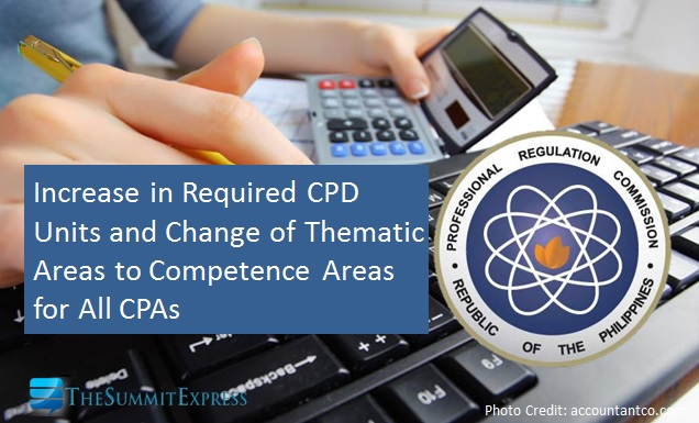 PRC increases required CPD units for CPAs (2017-2019)