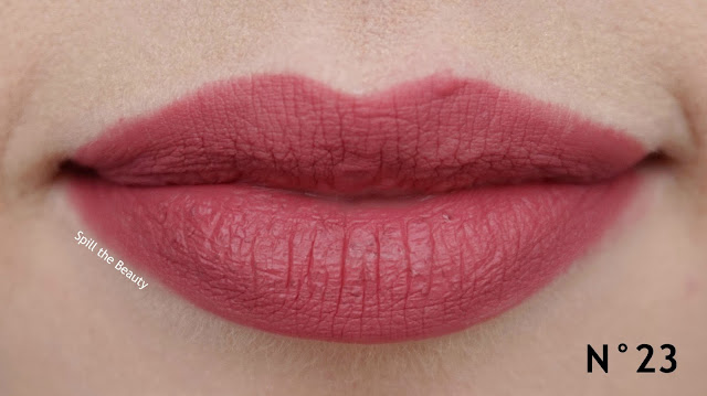 MAKE UP FOR EVER High Precision Lip Pencil n23 n14 review swatches