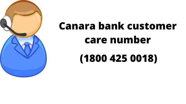 Canara Bank Customer Care Number