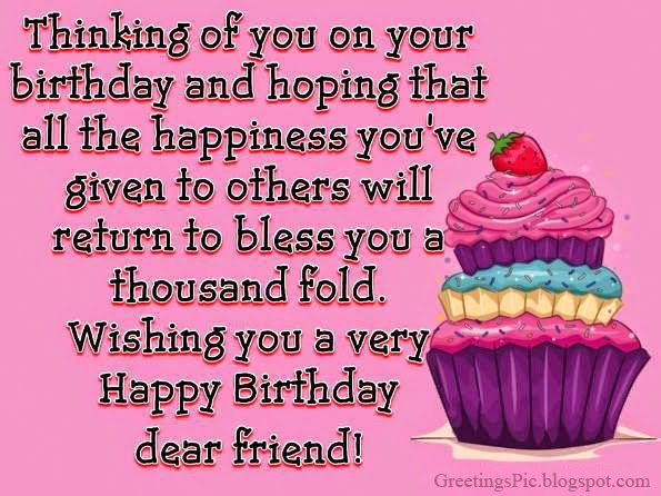 Top 50 happy birthday friend quotes - Viral Trench